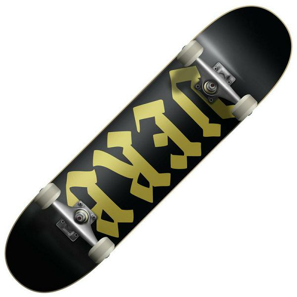 Skateboard Verb Caligraphy
