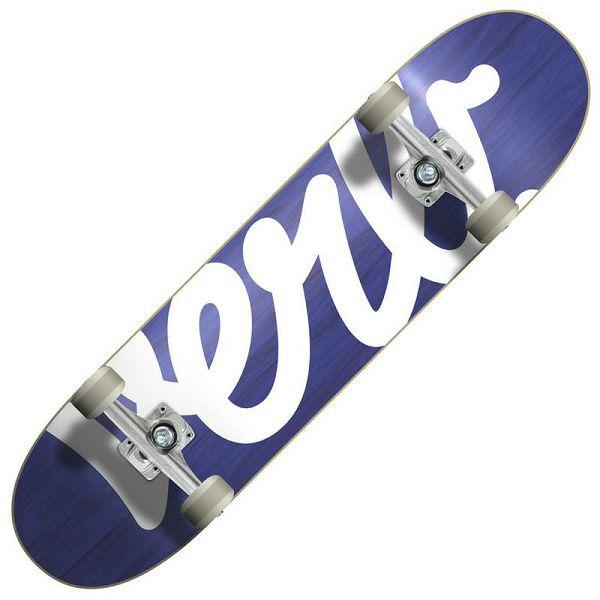 Skateboard Verb Script Blue 8