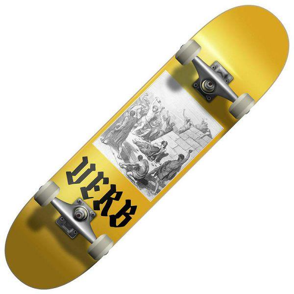 Skateboard Verb Stoned Gold 8.125