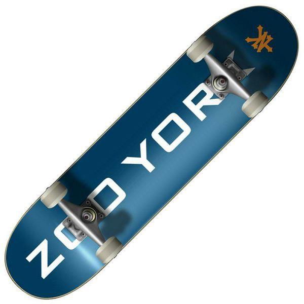 Skateboard Zoo York Logo Block 7.5