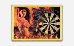 Slika Dart Lady on fire