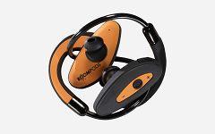 Slušalice Boompods Sportpods orange/black