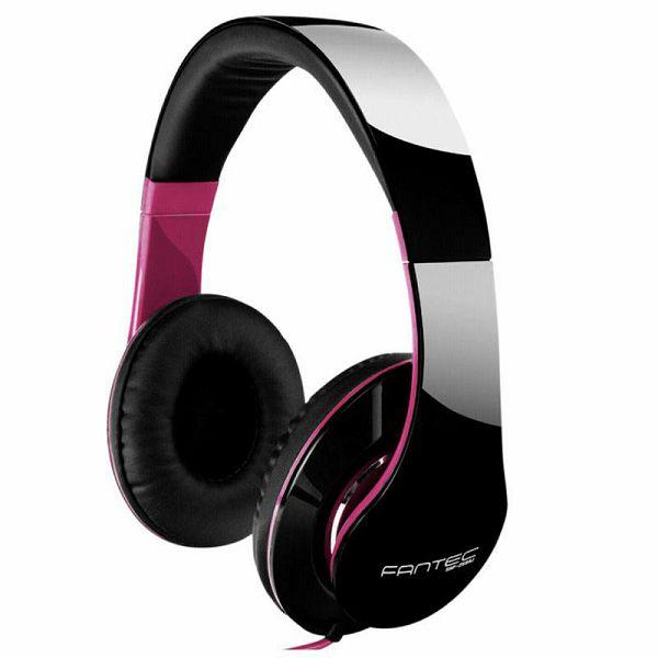 Slušalice Fantec SHP-250AJ black / pink