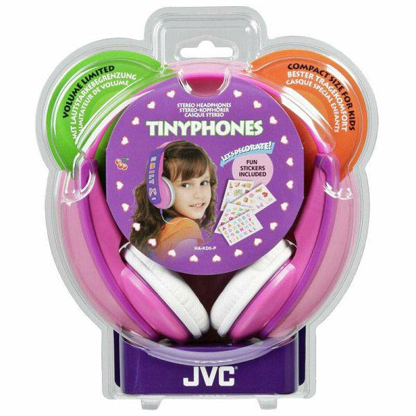 Slušalice JVC HA-KD 5 P-E pink