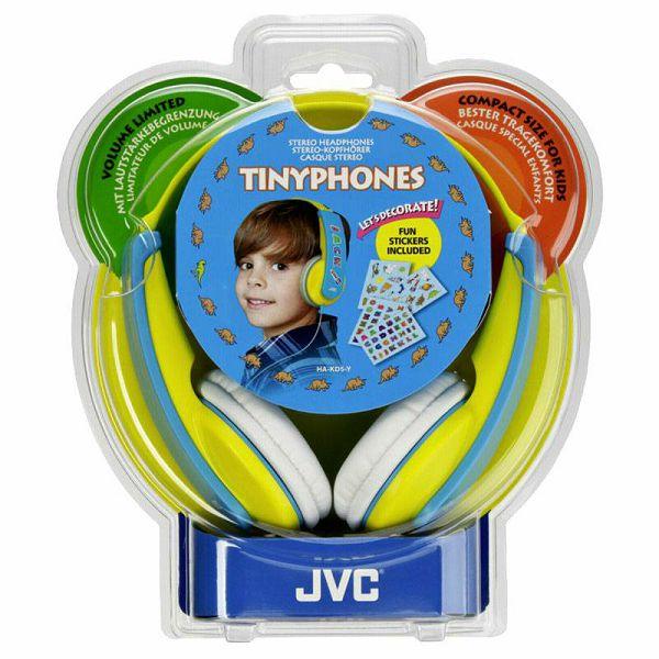 Slušalice JVC HA-KD 5 Y-E yellow