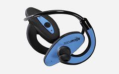 Slušalice Boompods Sportpods blue/black