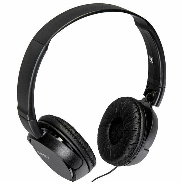 Slušalice Sony MDR-ZX110APB Black
