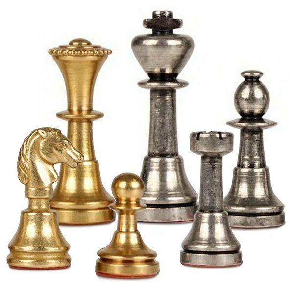 Small Staunton Solid Brass