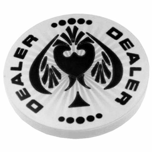 Spaydz Ceramic Dealer Button