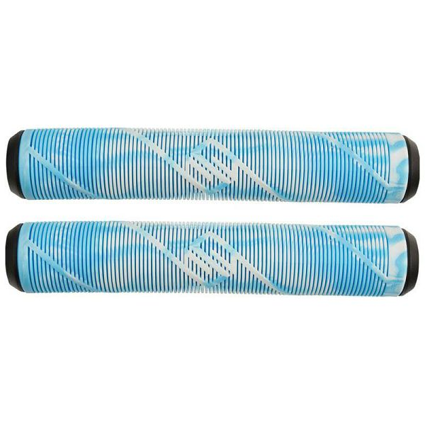 Striker Pro scooter Grips White/Teal