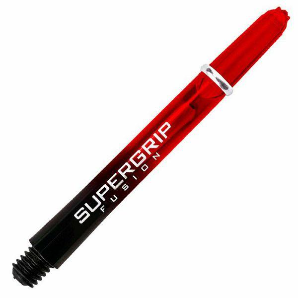 Supergrip Fusion Short Black & Red
