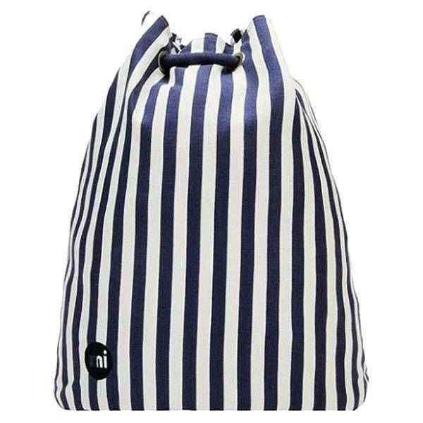 Swing Bag - Seaside Stripe Blue