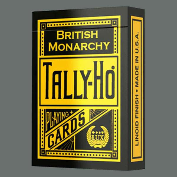 Tally Ho British Monarchy Black