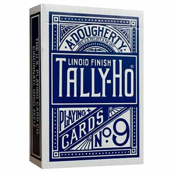 Tally Ho Fan Blue