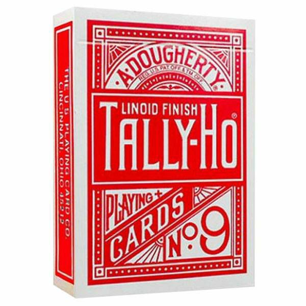 Tally Ho Fan Red