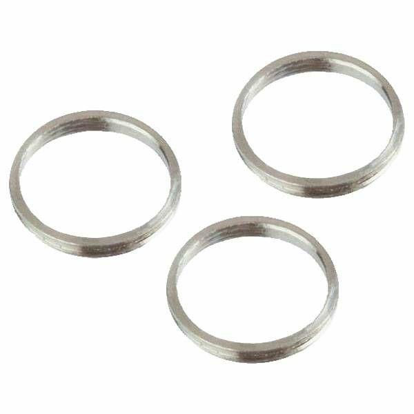 Target Aluminium Silver Pro Grip Rings