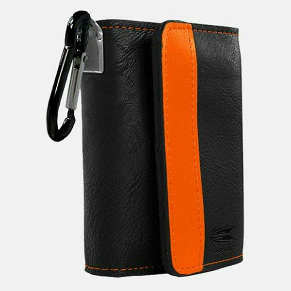Target Montana Wallet Black & Orange