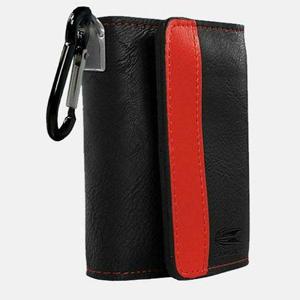 Target Montana Wallet Black & Red