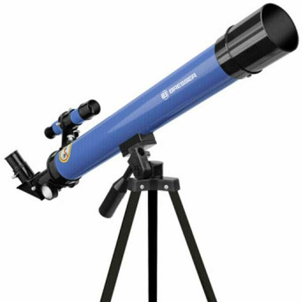 Teleskop Bresser Junior 50/600 AZ blue Refractor