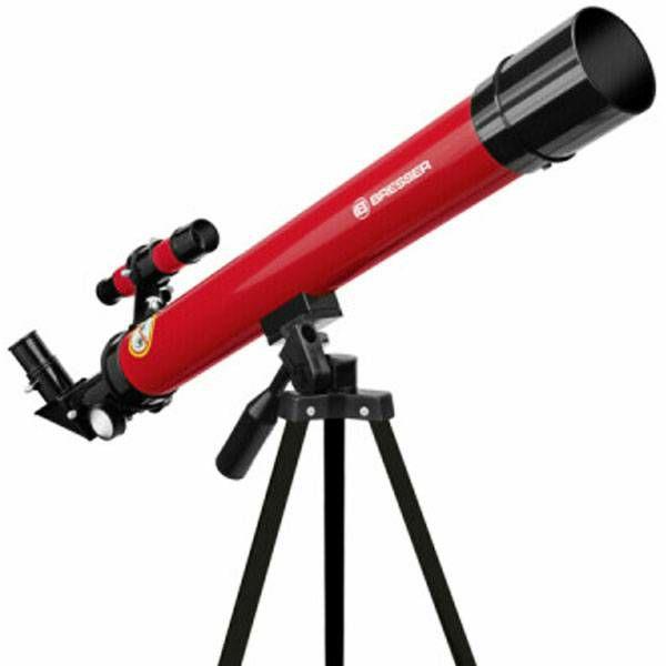 Teleskop Bresser Junior 50/600 AZ red Refractor
