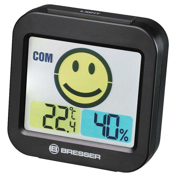 Temeo Smile Thermo-Hygrometer Black