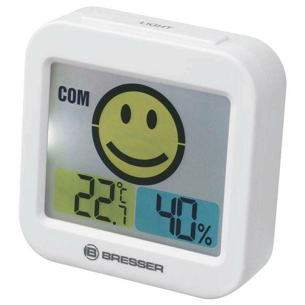 Temeo Smile Thermo-Hygrometer White