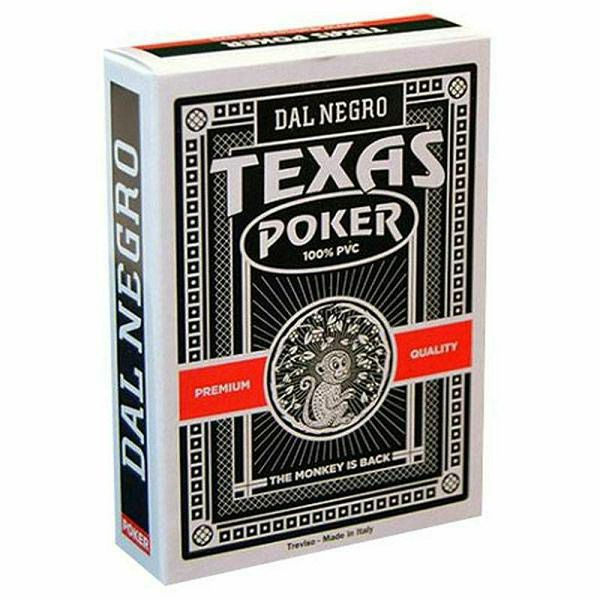 Texas Poker Monkey Black