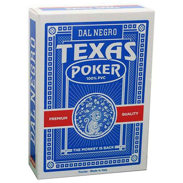 Texas Poker Monkey Blue