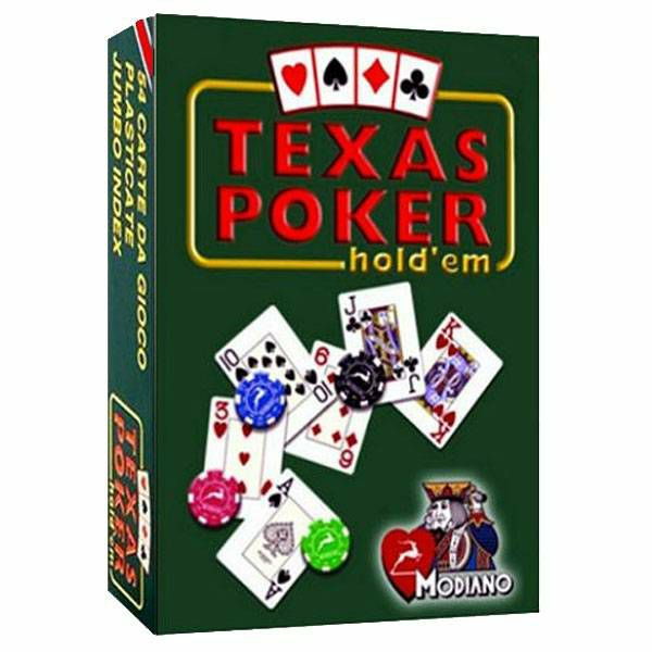 Texas Poker Red Jumbo