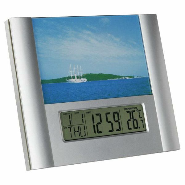 TFA 98.1093 alarm clock & photo frame
