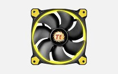 Thermaltake Fan 120mm Riing 12 LED Yellow