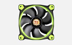 Thermaltake Fan 140mm Riing 14 LED Green