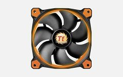 Thermaltake Fan 140mm Riing 14 LED Orange