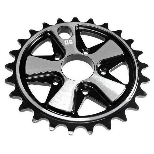 TLC Vintage 5-Spoke Freestyle BMX Sprocket Black