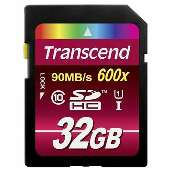 Transcend SDHC 32GB Class10 UHS-I 600x