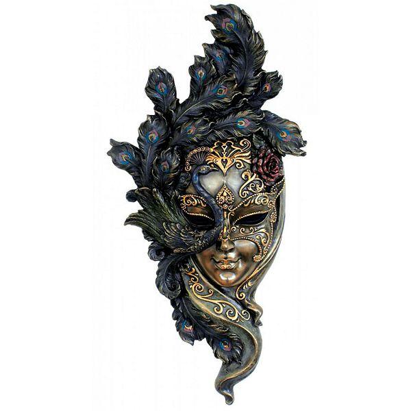 Venecijanska maska Peafowl