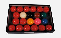 Ventura Economy snooker set  52.4 mm