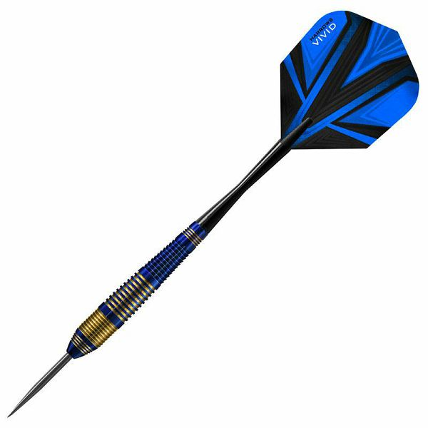 Vivid Darts Brass Blue 21 g