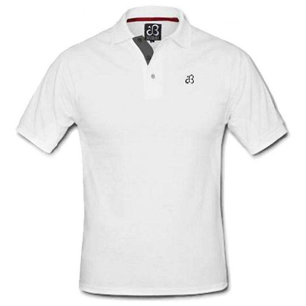 White Polo Short Sleeve XXL
