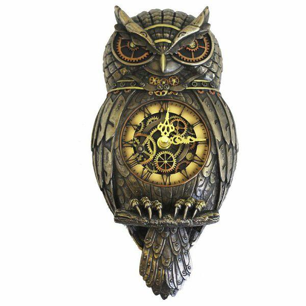 Zidni sat Owl