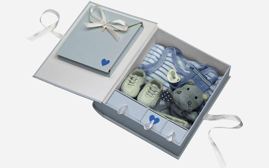 Baby Animal blue Memory Box