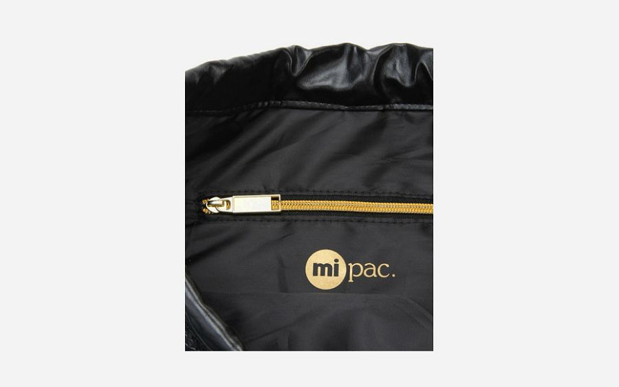 Gold Kit Bag - Python Black