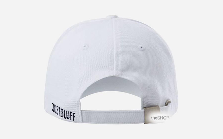 Just Bluff Cap White