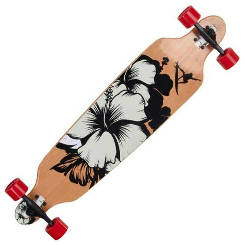 Longboard Drop Shape Surfer Black 42