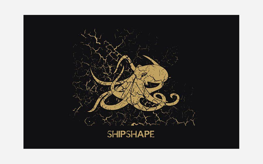 Majica ShipShape crna XL