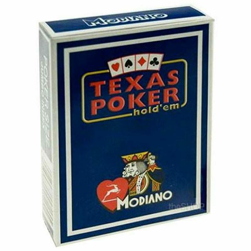 Modiano Texas Poker Blue