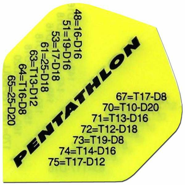 Pentathlon Standard Yellow Checkouts