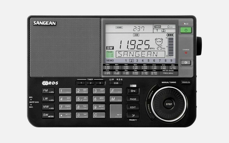 Sangean ATS-909 X black