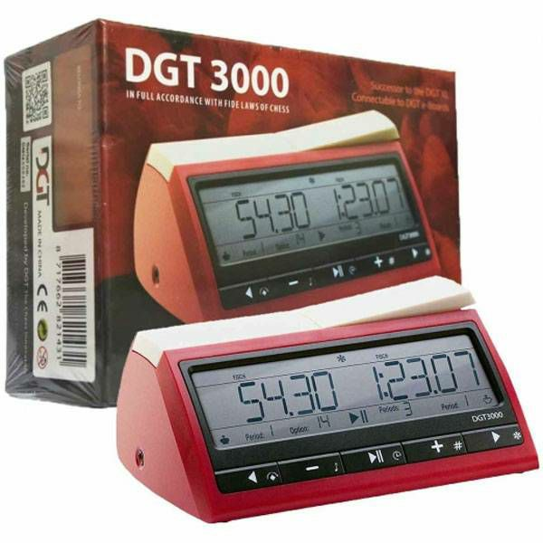 Sat za šah DGT 3000 Digital Red