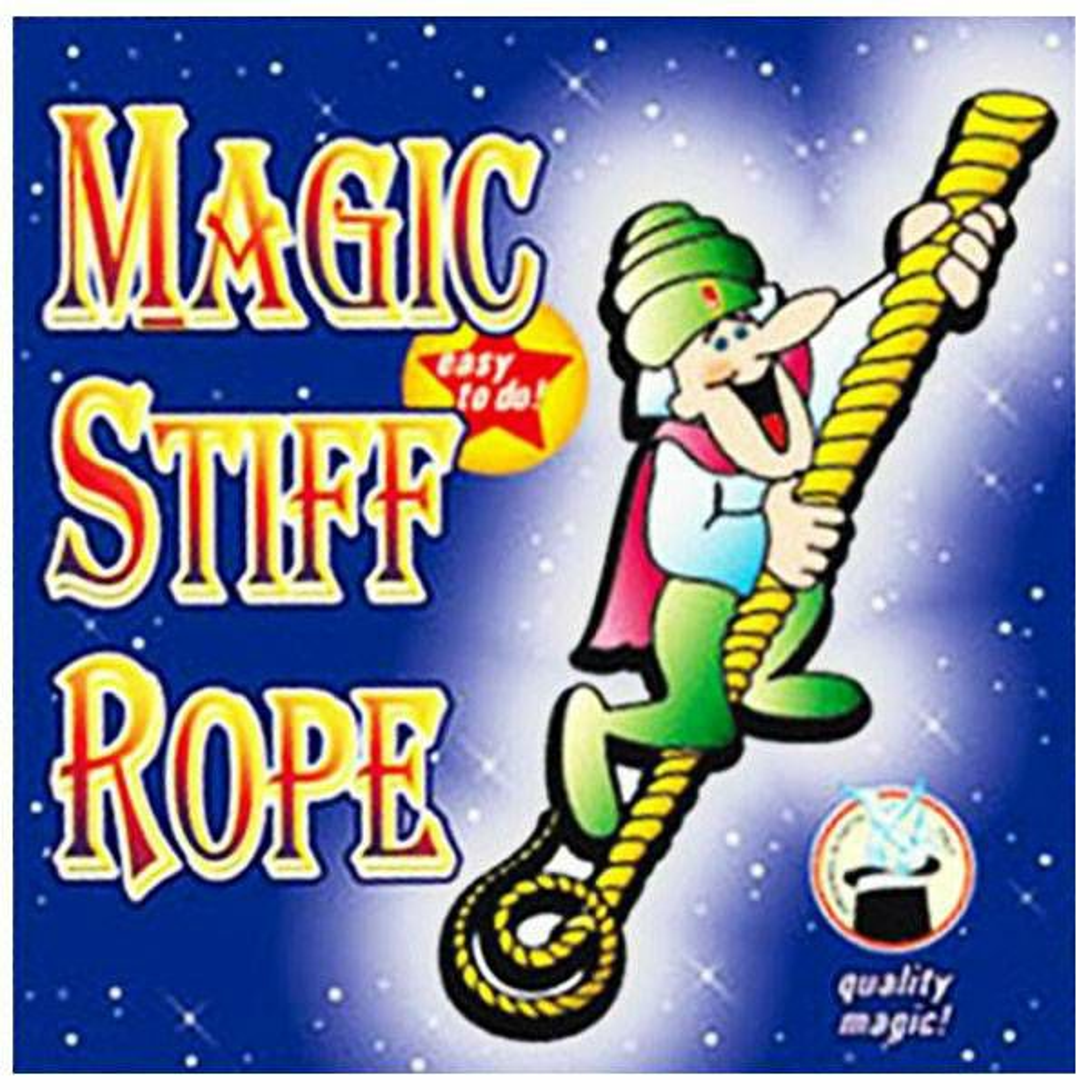 Stiff Rope Yellow